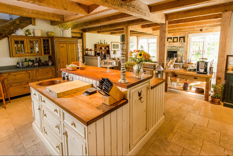 Post And Beam Kitchen Design